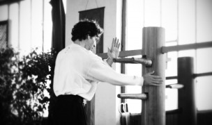 Johan Merley-passage de grade-mannequin de bois